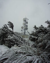 BCL base station on Mount Climie, New Zealand