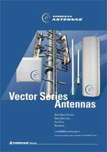 Vector WiMAX antennas leaflet